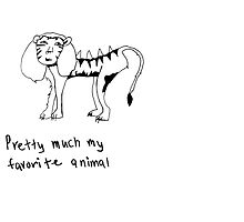 the liger, your favorite animal by darksideofanais