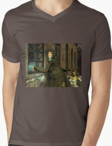 January, Seasons of the Witch: Window Frosting Mens V-Neck T-Shirt