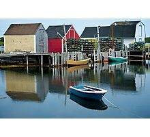 Blue Rocks Nova Scotia Canada Photographic Print