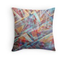 Hallucinogetic Paths Throw Pillow