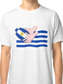 Uruguay Rugby Flag Classic T-Shirt