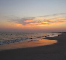 Beautiful Sky On The Beach by Cynthia48
