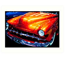 Tangerine Caddy Art Print