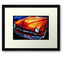 Tangerine Caddy Framed Print