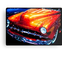 Tangerine Caddy Metal Print