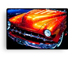 Tangerine Caddy Canvas Print