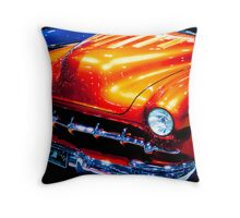 Tangerine Caddy Throw Pillow