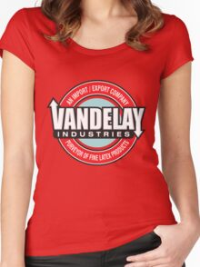 Vandelay Industries - An Import/Export Company Women's Fitted Scoop T-Shirt