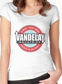 Vandelay Industries - An Import/Export Company Women's Fitted Scoop T-Shirt