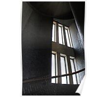 Textured Stairwell, Gettysburg, PA Poster