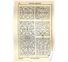 A Handbook Of Ornament With Three Hundred Plates Franz Sales Meyer 1896 0280 Enclosed Ornament Oblong Panel Poster