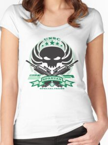 USNC Spartans - Special Teams Women's Fitted Scoop T-Shirt