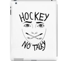 Hockey (no talky) iPad Case/Skin