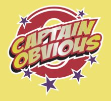 Captain Obvious by DetourShirts