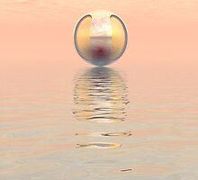 Alien Spacecraft by Phil Perkins