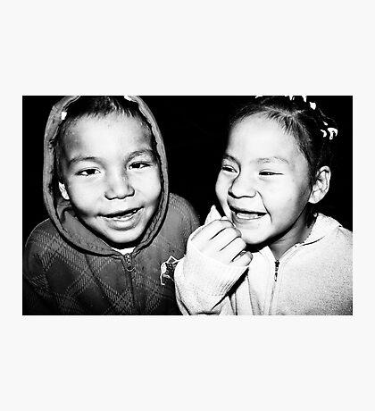 Toothless Smiles Photographic Print