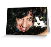 8/01/10 Lisa & Oreo - Oreo's 18th Birthday Greeting Card