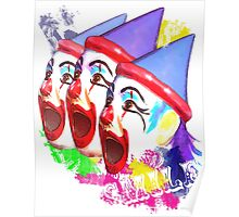 Carnival Clowns Poster