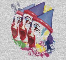 Carnival Clowns One Piece - Long Sleeve