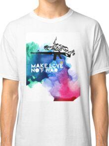 Make Love Not War M16 Classic T-Shirt