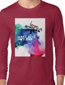 Make Love Not War M16 Long Sleeve T-Shirt