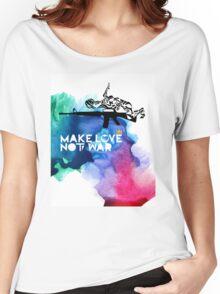 Make Love Not War M16 Women's Relaxed Fit T-Shirt