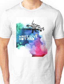 Make Love Not War M16 Unisex T-Shirt