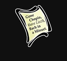 Gone Chopin Womens Fitted T-Shirt