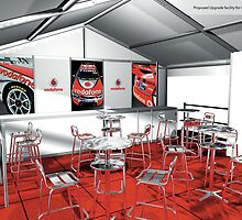 Vodafone V8 Grand Prix Promotional Posters by Mountain Studios Design