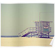Lifeguard Stand Poster