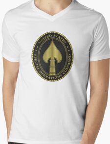 United States Special Operations Command Mens V-Neck T-Shirt