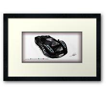 Omar Edition Car Framed Print