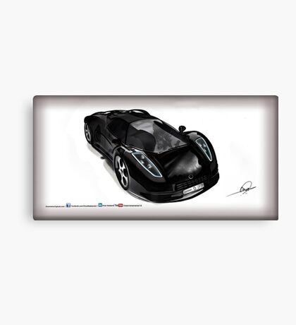 Omar Edition Car Canvas Print