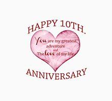 10th. Anniversary Unisex T-Shirt