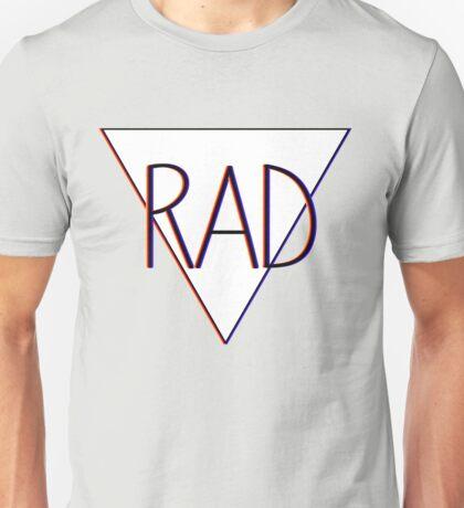 3D effect 'RAD'  Unisex T-Shirt
