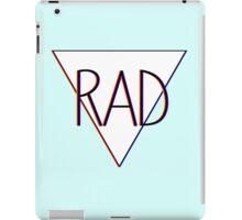 3D effect 'RAD'  iPad Case/Skin