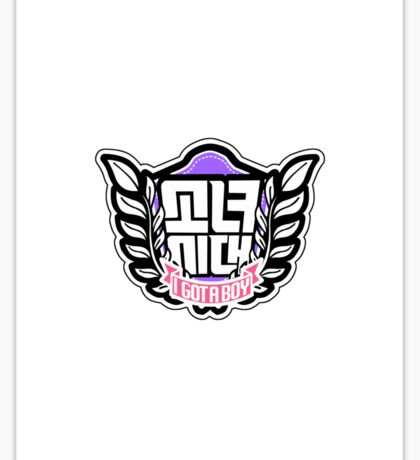 Girls' Generation SNSD So Nyeo Shi Dae I Got A Boy Logo 1 Sticker