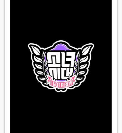Girls' Generation SNSD So Nyeo Shi Dae I Got A Boy Logo 2 Sticker