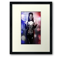 Catwoman - Caught in the act Framed Print