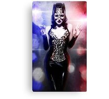 Catwoman - Caught in the act Canvas Print