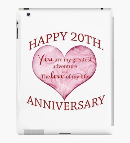 20th. Anniversary iPad Case/Skin