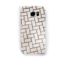 Marshmallow Herringbone Samsung Galaxy Case/Skin
