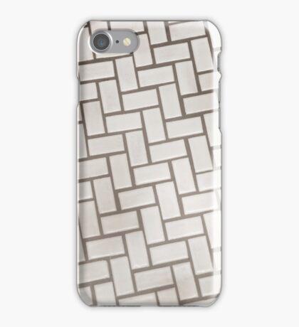 Marshmallow Herringbone iPhone Case/Skin
