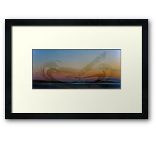 A Ghostly Vision Framed Print