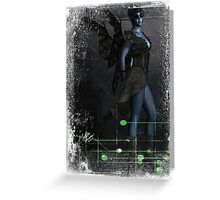 Iaconagraphy: Time Guardians: Dark Weaver Greeting Card