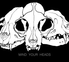 MIND YOUR HEADS by Jackie Moyer