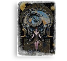 Iaconagraphy: Time Guardians: Steampunk Celestial Canvas Print