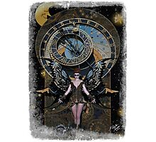 Iaconagraphy: Time Guardians: Steampunk Celestial Photographic Print