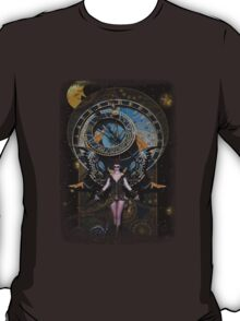 Iaconagraphy: Time Guardians: Steampunk Celestial T-Shirt