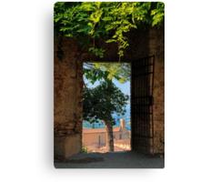 Ancient Portal Canvas Print
